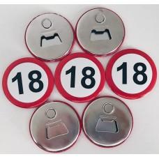 Magnet z odpiračem za steklenice za 18 let