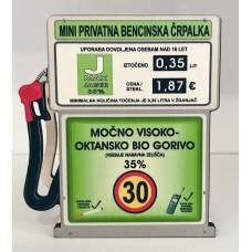 Bencinska črpalka z Jegrom za 30 let