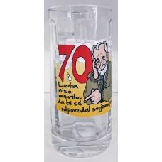 Pivski vrček za 70 let