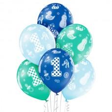 Baloni številka 1 za dečka