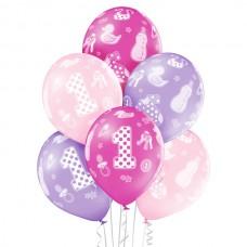 Baloni številka 1 za deklico