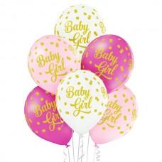 Baloni za rojstvo - Baby Girl