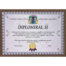 Certifikat - Za diplomo (Za njega)