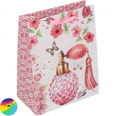 Darilna vrečka Parfum roza
