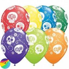 Baloni z lobanjami