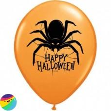 Balon Happy Halloween s pajkom