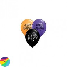 Balon Happy Halloween z luno