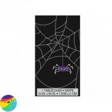 Prt črn s pajkovo mrežo