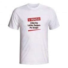 Majica - V penziji, Zdaj ga lahko serjem po svoje!