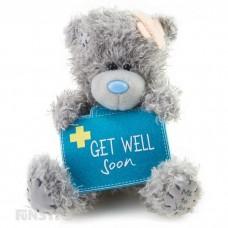 Me To You medvedek s kovčkom - Get Well Soon