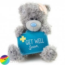 Me To You medvedek s kovčkom - Get Well Soon