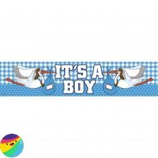 Napis It's a Boy s štorkljo