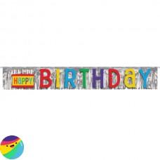 Napis z resicami Happy Birthday
