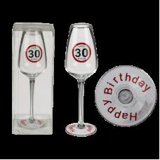 Kozarec za penino - Happy Birthday 30