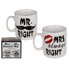 Set XXL lončkov MR right & MRS. always right