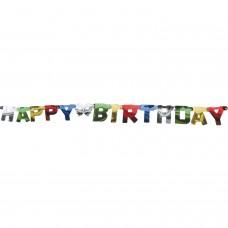 GIrlanda iz črk - Happy Birthday