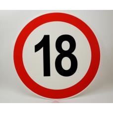 Prometni znak št. 18