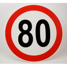 Prometni znak št. 80